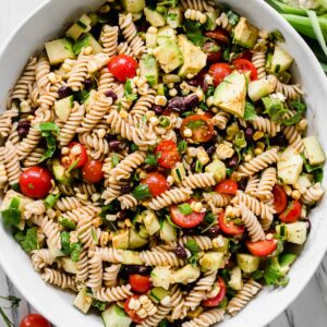20 minute Mexican pasta salad