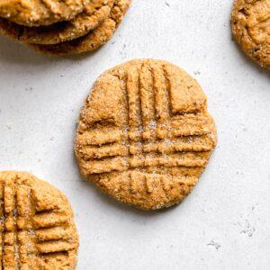 Healthier Peanut Butter Cookies