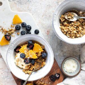 Easy Healthy Granola Recipe Yogurt Bowl