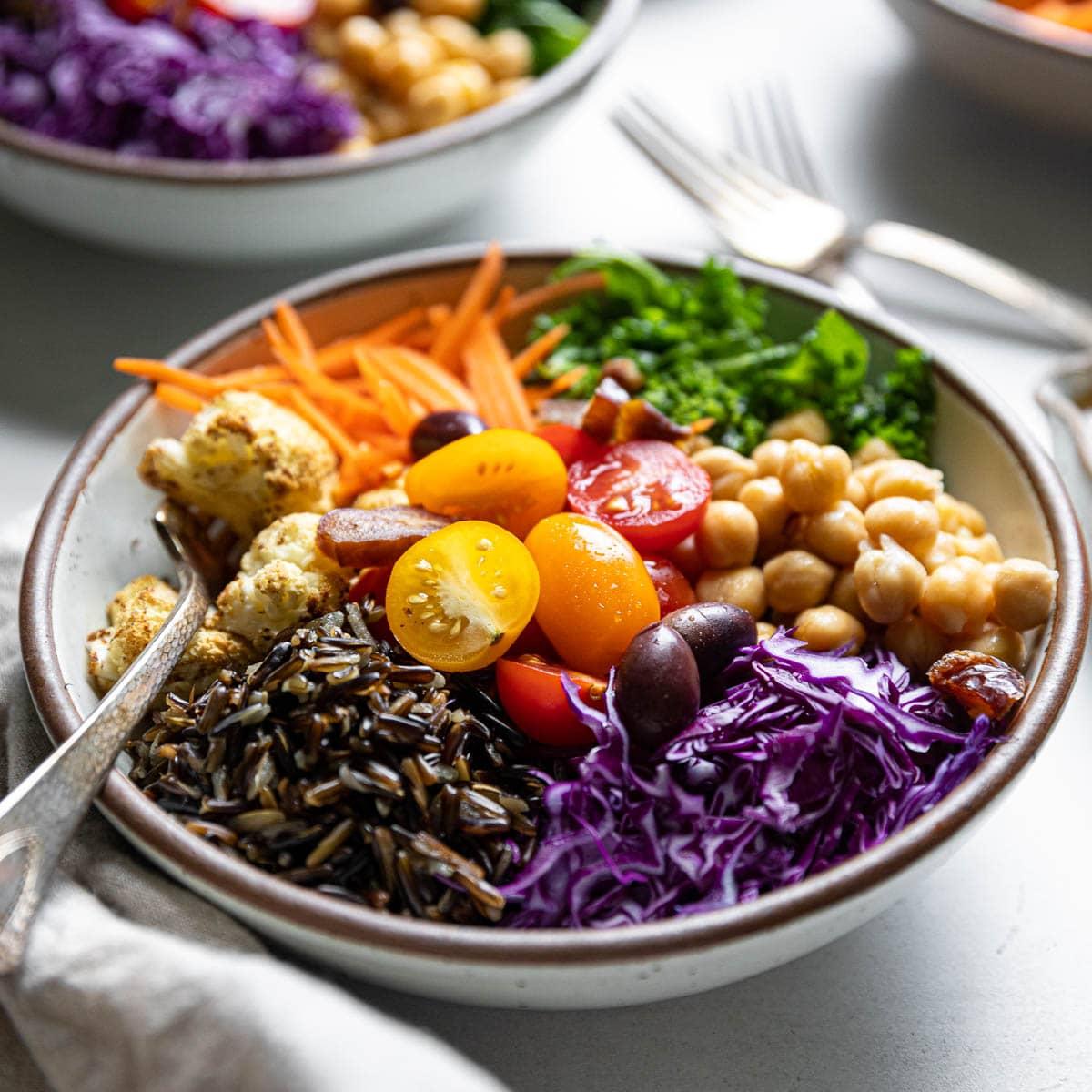 WIld Rice Mediterranean Bowls